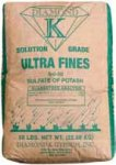 Organic Ultra Fines Sulfate of Potash 0-0-50, 50 lb. Bag