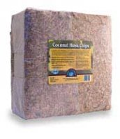 Coco Husk Chips, 2 Cu. Ft. Expanded, 5 kilo Compressed Block