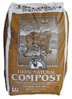 Compressed Compost, 3 Cubic Foot Bag